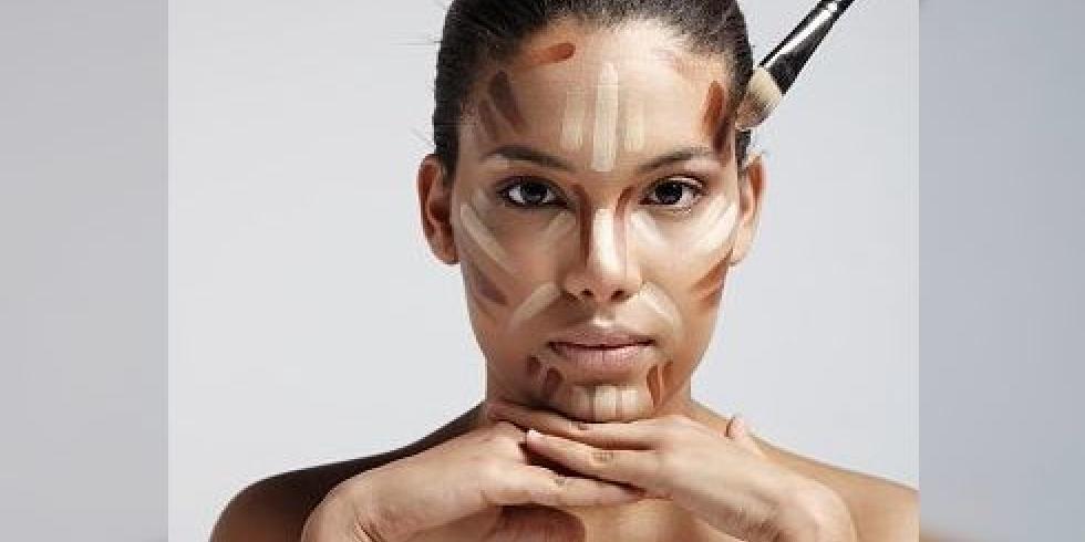 e sant maquillage contouring redessiner le visage avec du fond de teint e. Black Bedroom Furniture Sets. Home Design Ideas