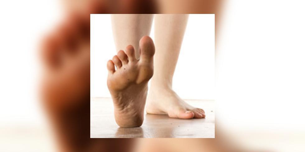 douleur talon pied gauche